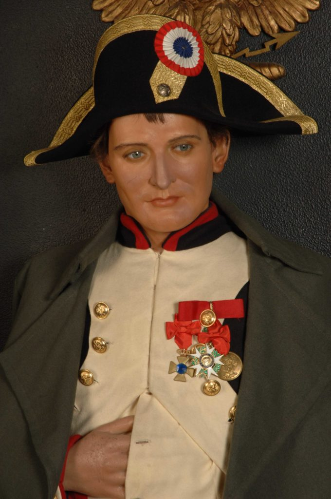 Figura de cera Napoleón