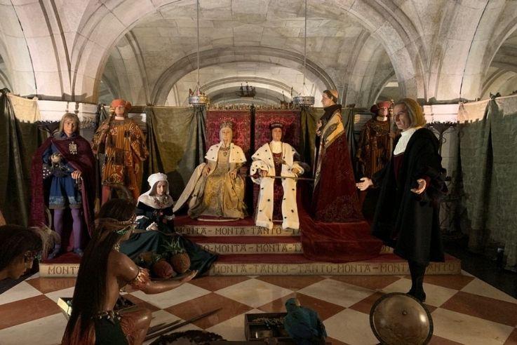 Figuras de cera Reyes Católicos