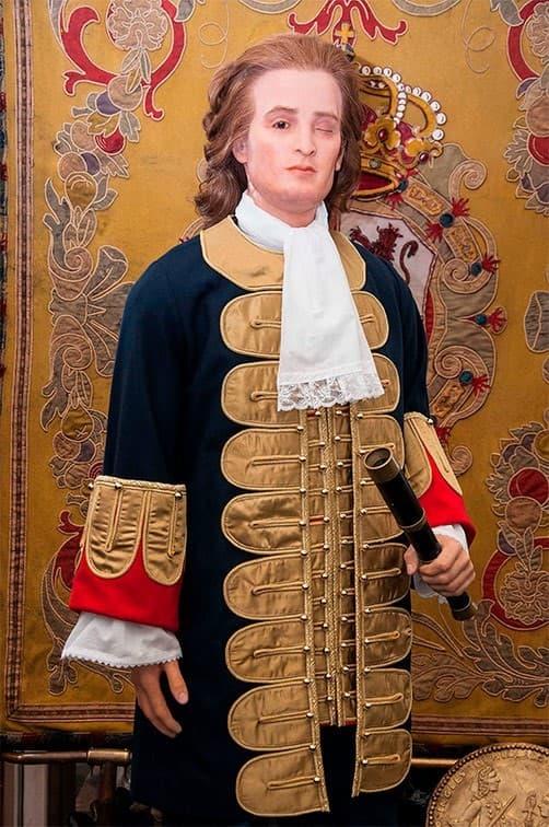 figura de cera de Blas de Lezo Museo de Cera de Madrid