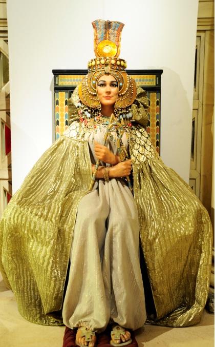 Cleopatra en el Museo de Cera