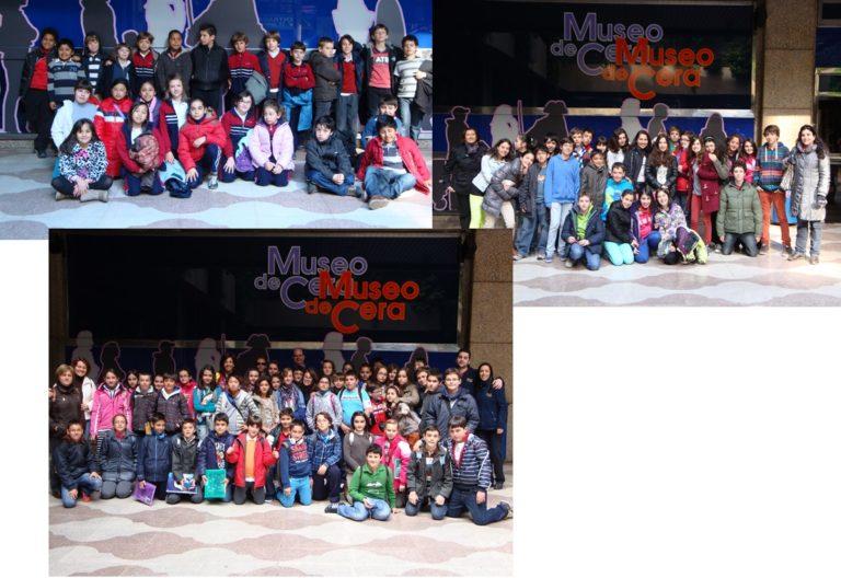 colegios ganadores concurso Museo de Cera de Madrid