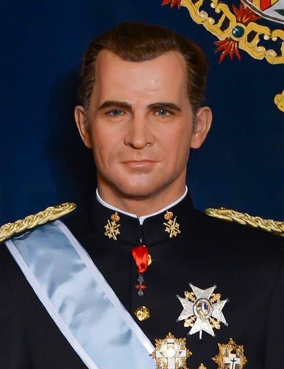 Rostro cera Felipe VI