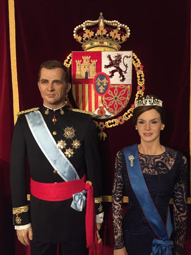 figura cera letizia ortiz Museo de Cera de Madrid