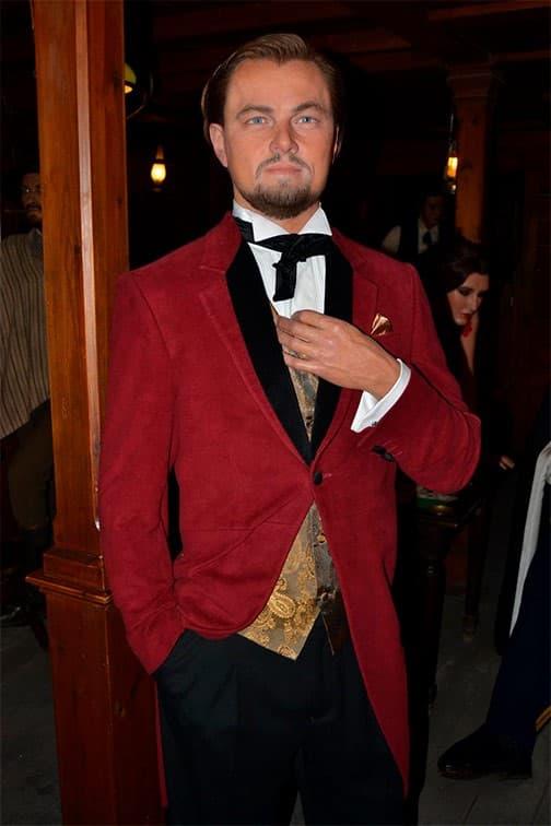 Leonardo Di Caprio en el museo de cera