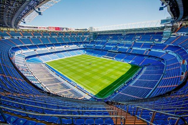 vista del estadio santiago bernabeu