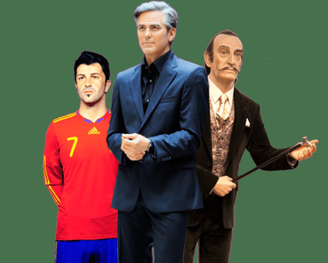 figuras de cera en el museo de cera de madrid