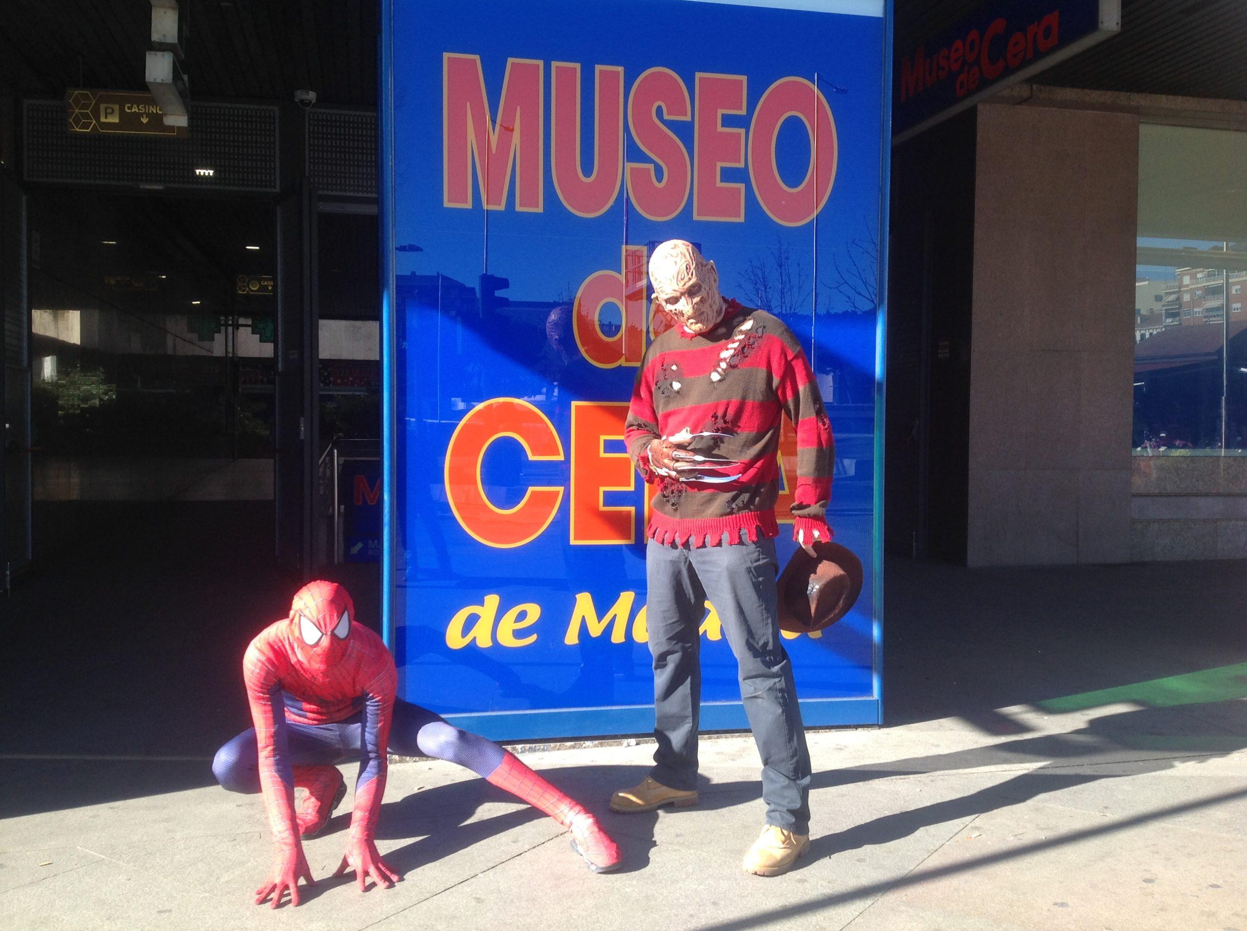 figuras museo de cera Madrid