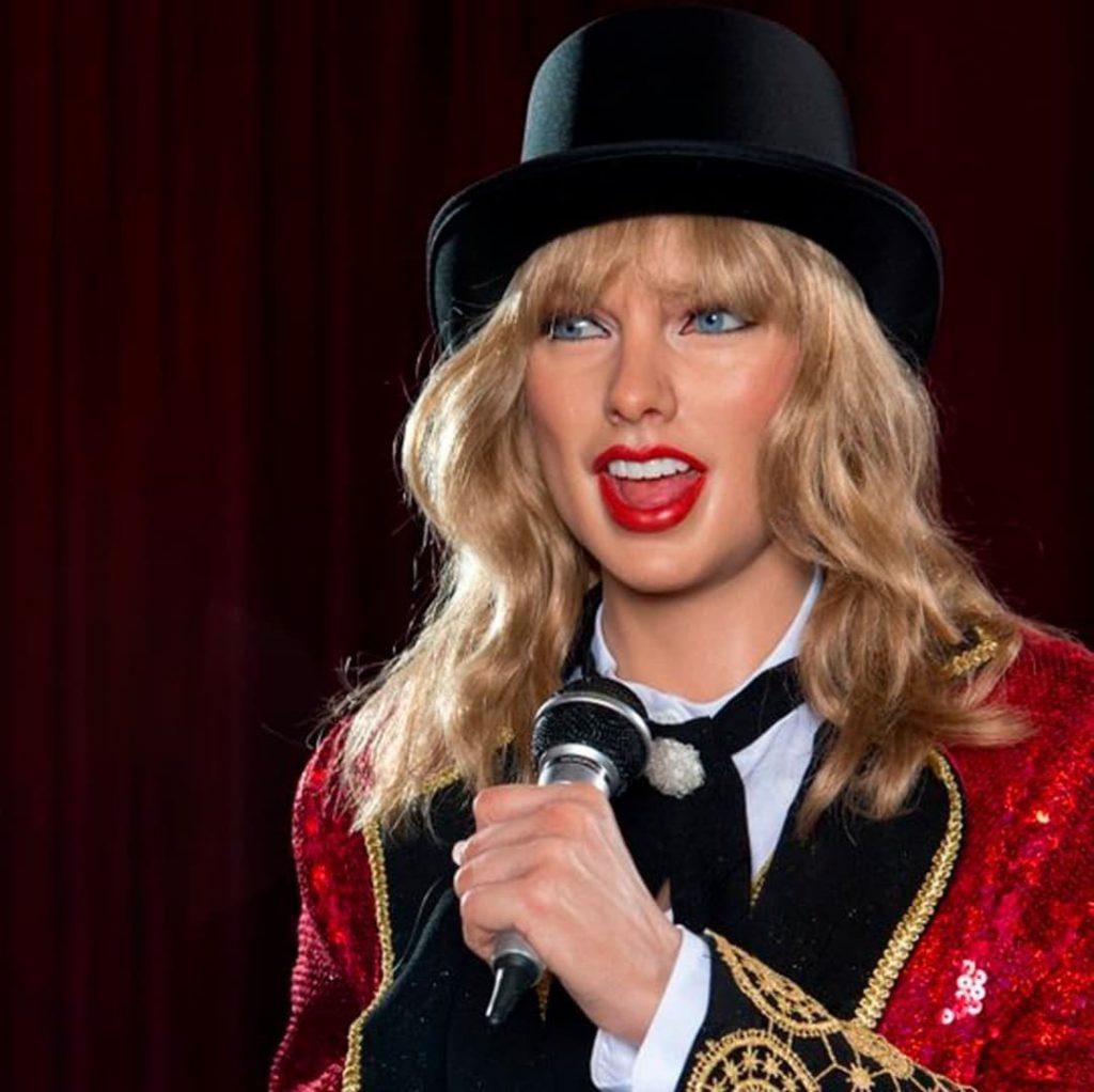 figura de cera de Taylor Swift
