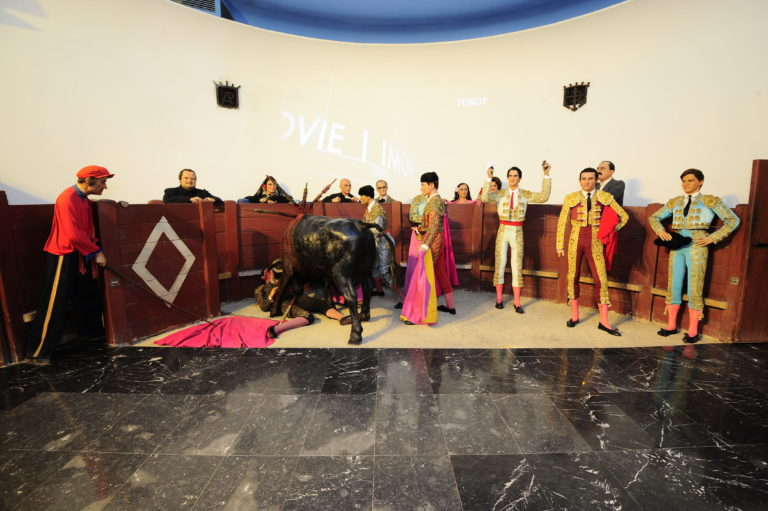 toros en el Museo de Cera