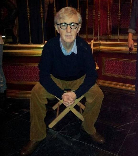 Woody Allen en el Museo de Cera